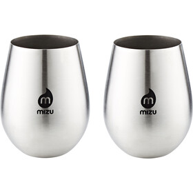 MIZU Wine Cup Pair black print